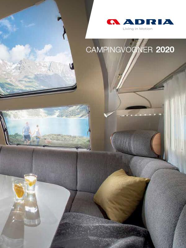 Adria katalog 2020 for campingvogn