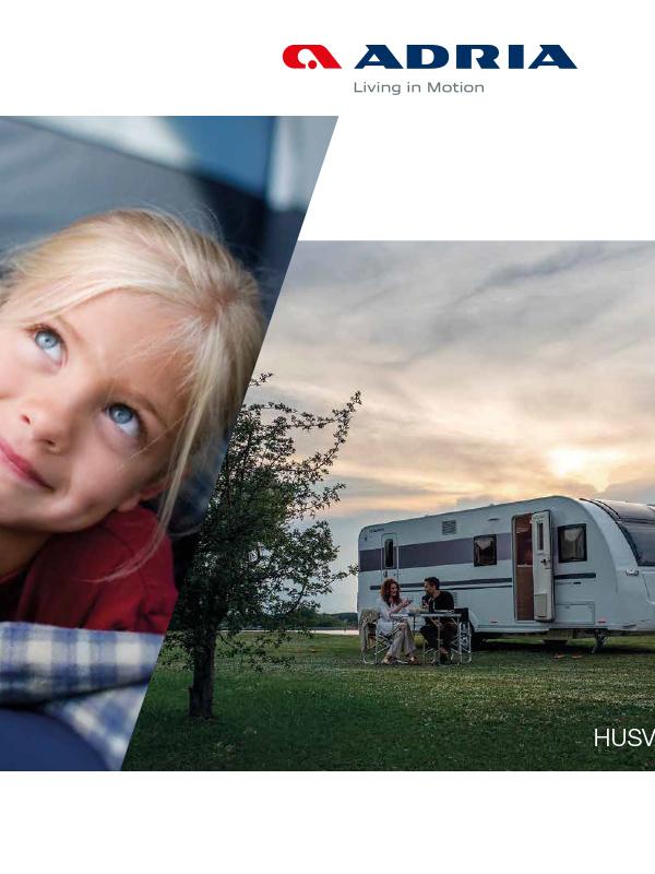 Adria katalog 2019 för husvagn