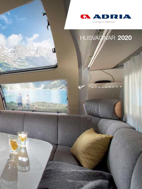 Adria katalog 2020 för husvagn