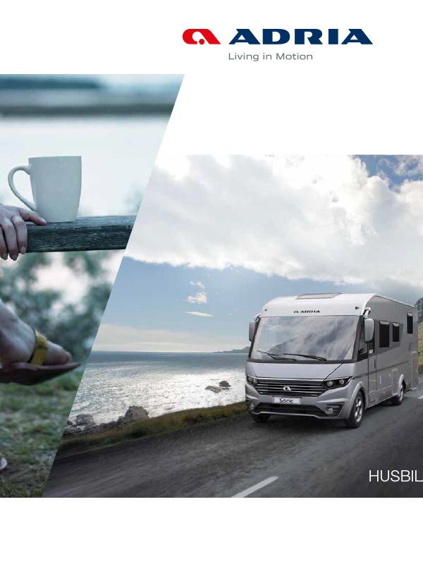 Adria katalog 2019 för husbil