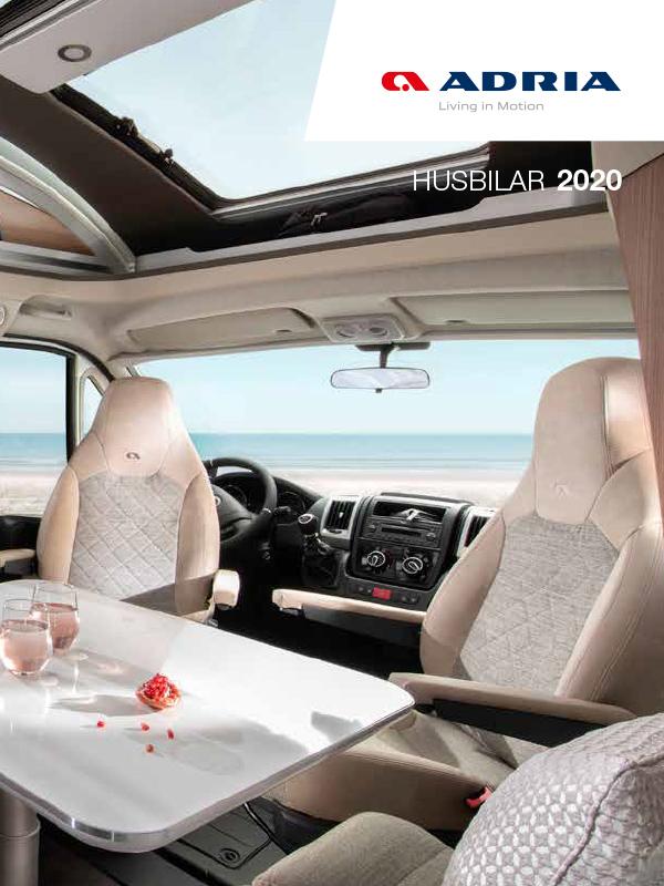 Adria katalog 2020 för husbil