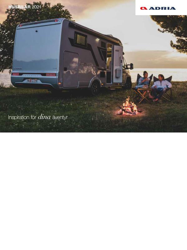 Adria katalog 2021 för husbil