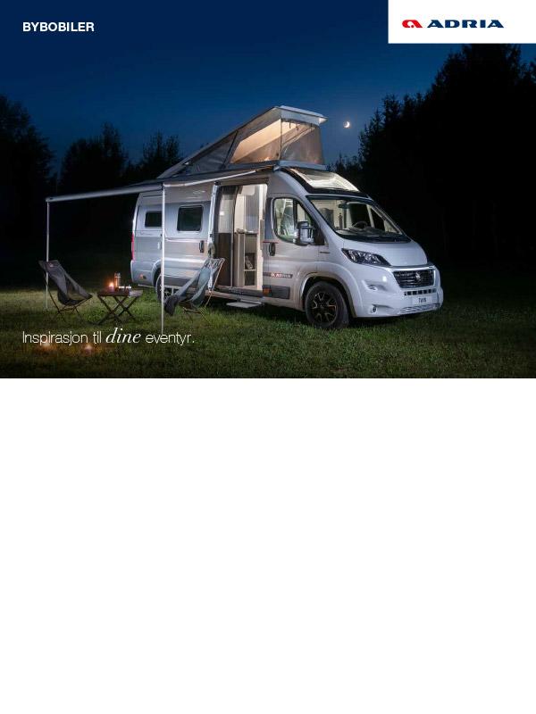Adria katalog 2022 Vans