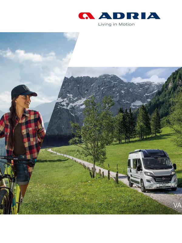 Adria katalog 2019 för Vans