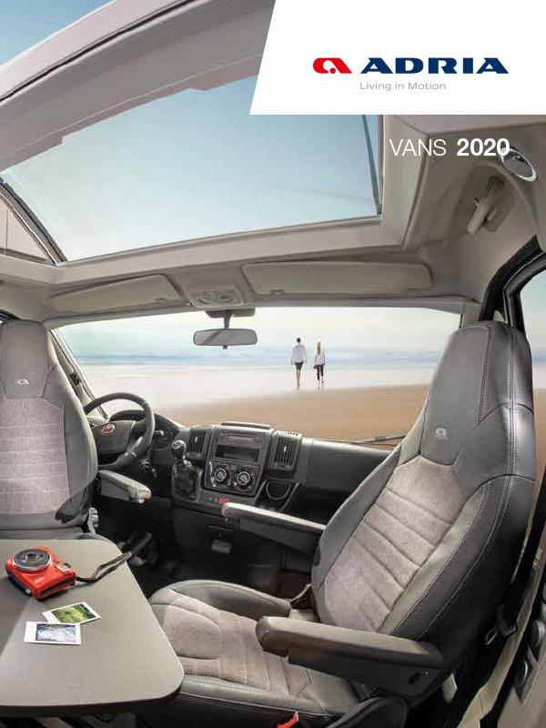 Adria katalog 2020 för Vans