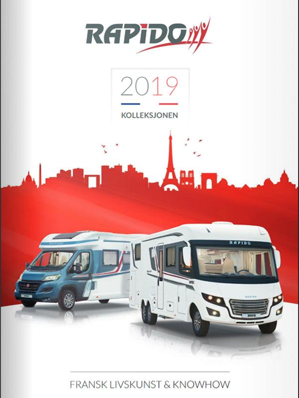 Rapido katalog 2019 for bobil