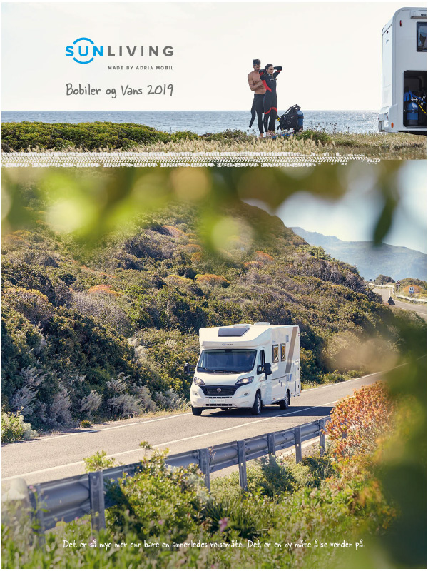 Sun Living katalog 2019 for bobil