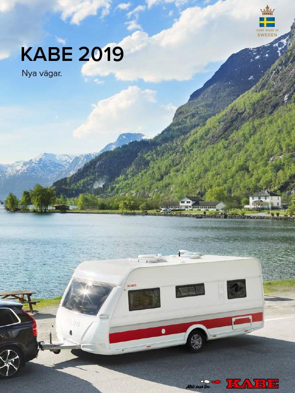 Kabe katalog 2019 för husvagn