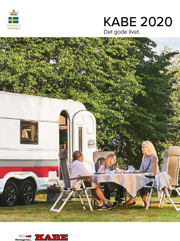 Kabe katalog 2020 for campingvogn