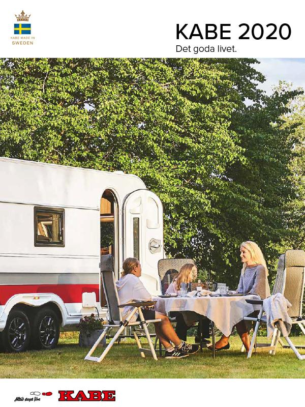 Kabe katalog 2020 för husvagn