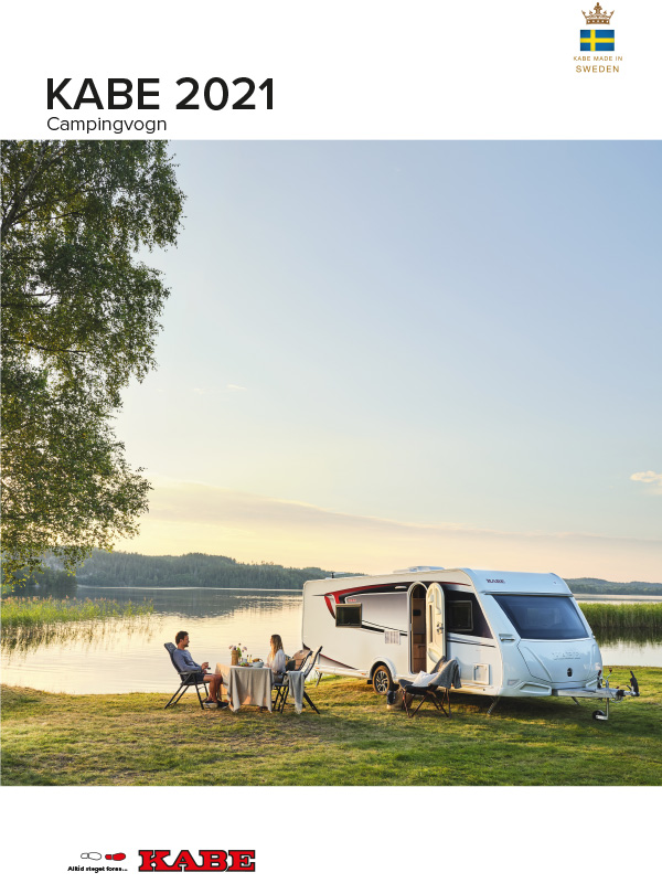KABE katalog 2021 for campingvogn