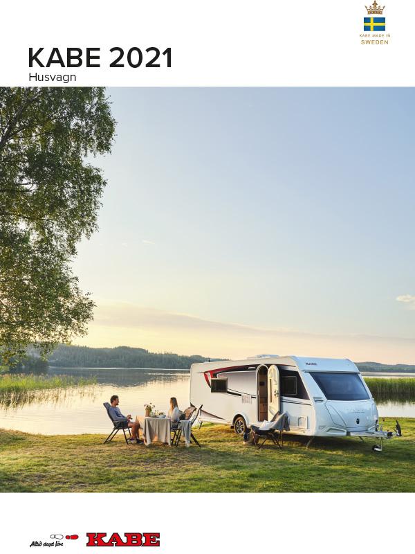 KABE katalog 2021 för husvagn