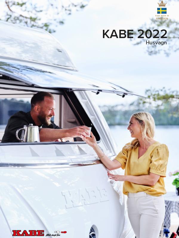 KABE katalog 2022 för husvagn
