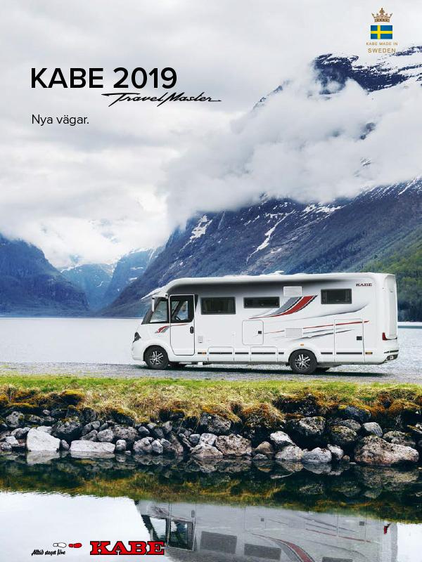 Kabe katalog 2019 för husbil