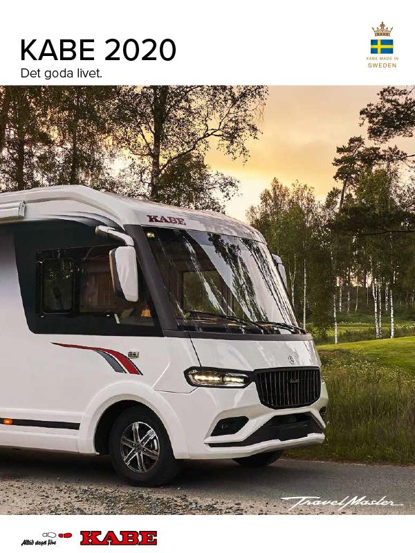 Kabe katalog 2020 för husbil
