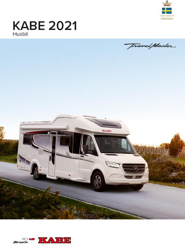 KABE katalog 2021 för husbil