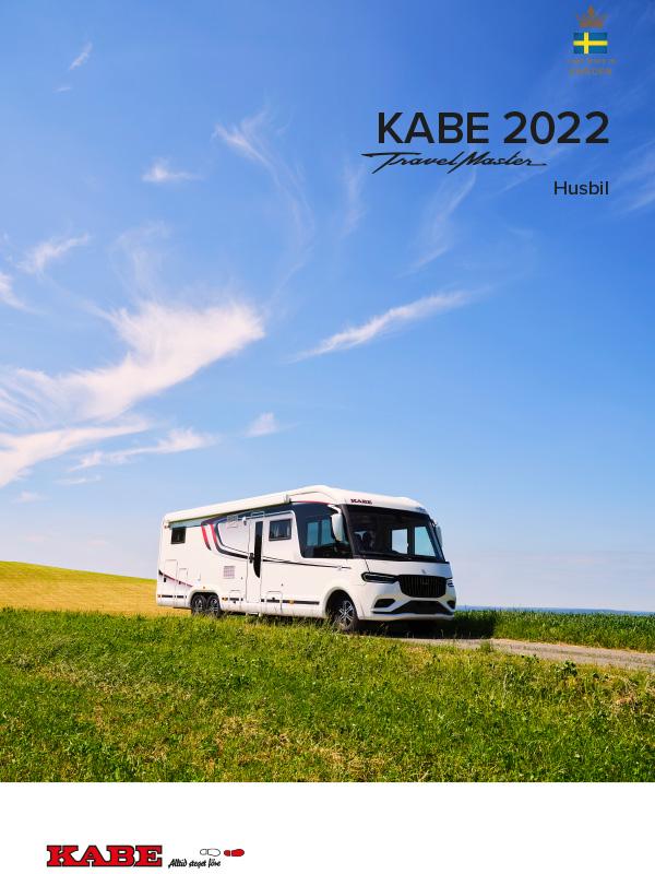 KABE katalog 2022 för husbil