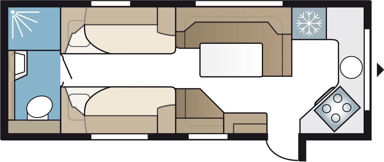 E2 R630TDLFK - Kabe