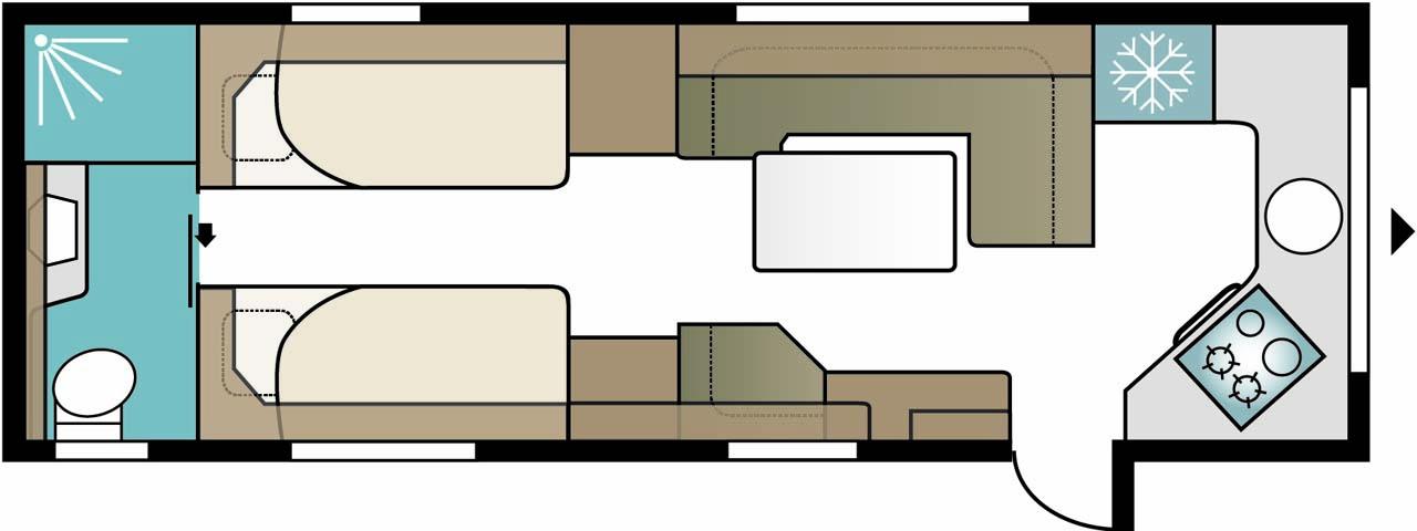 E2 I780TDLFK - Kabe