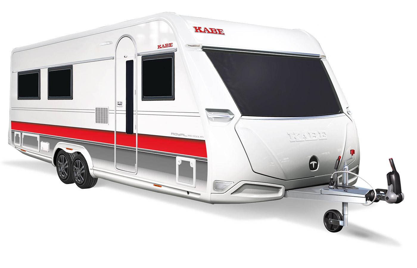 Kabe - Royal 740 DGDL Tandem