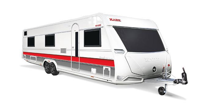 Hacienda, Husvagnar i teknikens absoluta framkant med utrustning i toppklass.