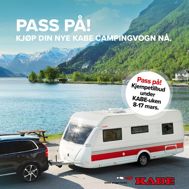 Tilbud KABE campingvogn