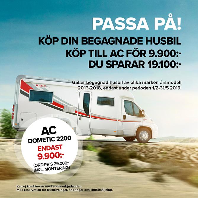 Kampanj begagnade husbilar - AC